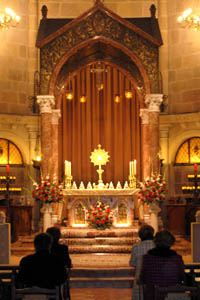 Mi visita a Jesus Sacramentado