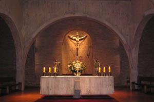 estas presente en el sacramento del altar