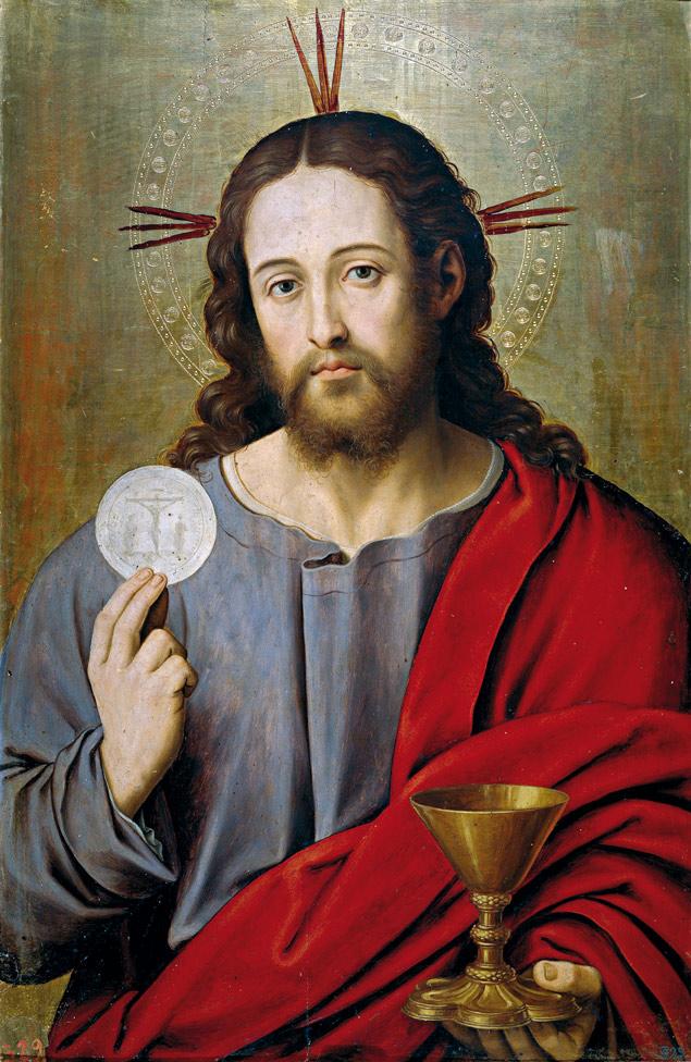 Salvador Juan de Juanes adoracion eucaristica