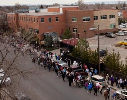 procesión eucarística Denver