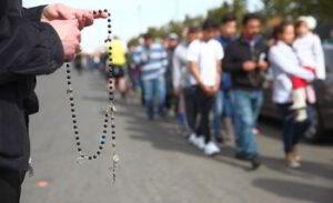 procesion eucarística rosario