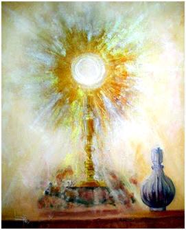 custodia adoración