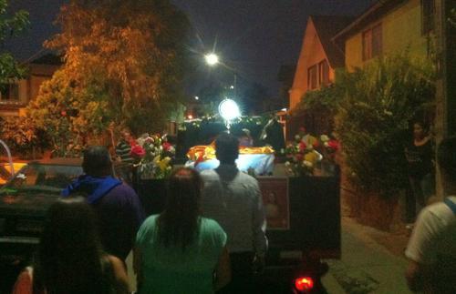 misión eucarística procesión nocturna