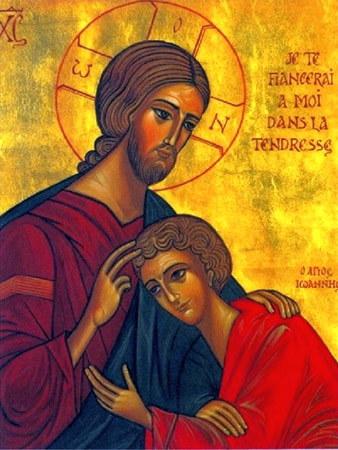icono san juan seguridad sagrado corazon